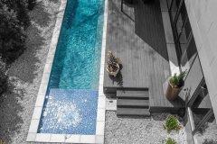 Macon piscine beton en Haute Savoie