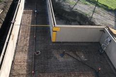 Maconnerie piscine beton Geneve