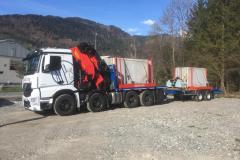 Entreprise de transport et levage en Suisse Romande